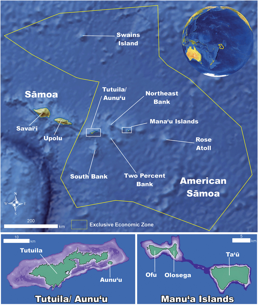 Annotated checklist for stony corals of American Sāmoa with